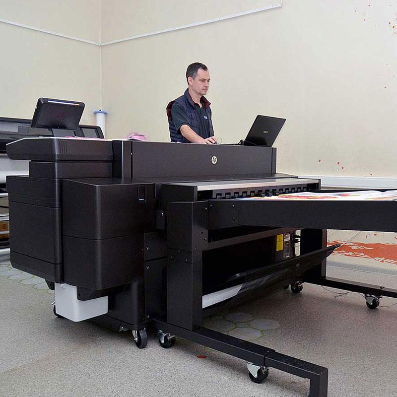 Инженерный плоттер HP PageWide XL 5000 - оборудование типографии